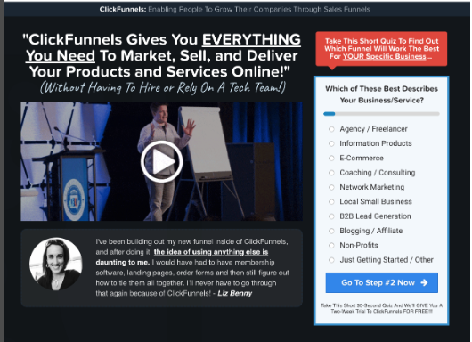Who Owns Clickfunnels Can Be Fun For Anyone